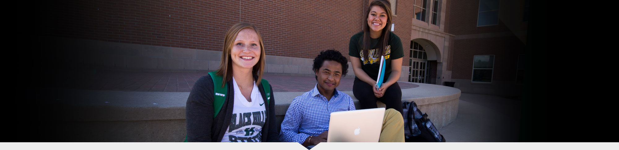 High School students enroll in dual credit.